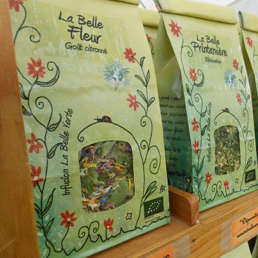 Boutique La Belle Verte - Producteur de plantes aromatiques et médicinales